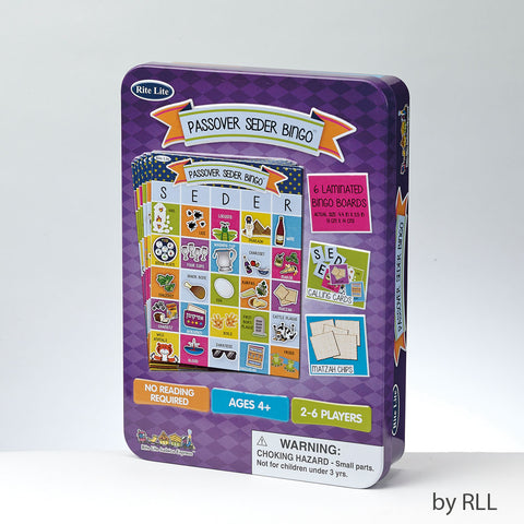 Rite Lite Passover Seder Bingo Game in Collectible Tin