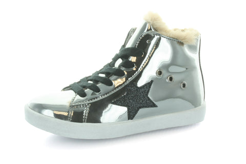 Fay's Fur Star Lace High Top