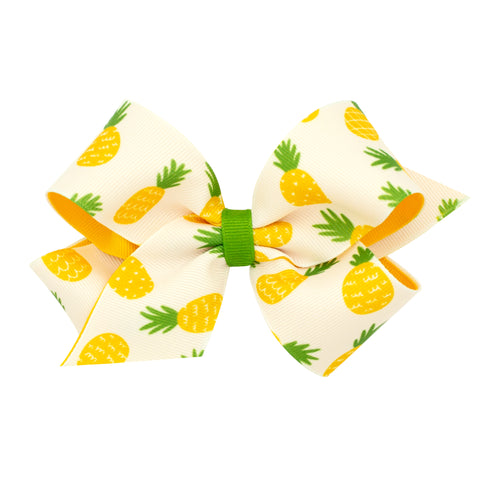 Wee Ones Medium Size Pineapple Hair Bow