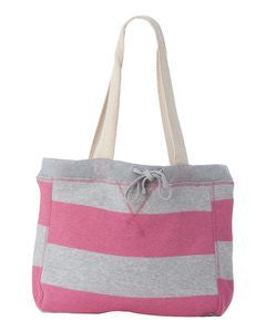 Striped Sweatshirt Style Bag Blank From MV SPORT