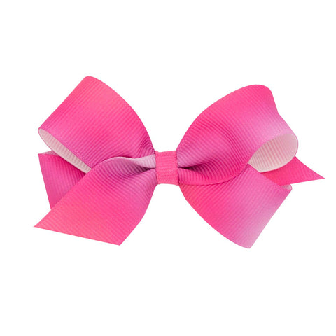 Wee Ones Medium Size Pink Ombre Bow