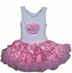 Popatu Pink Cupcake Petti Dress
