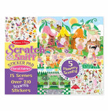 Scratch And Sniff Floral Fairies