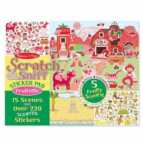 Melissa Abd Doug Scratch And Sniff Fruitville