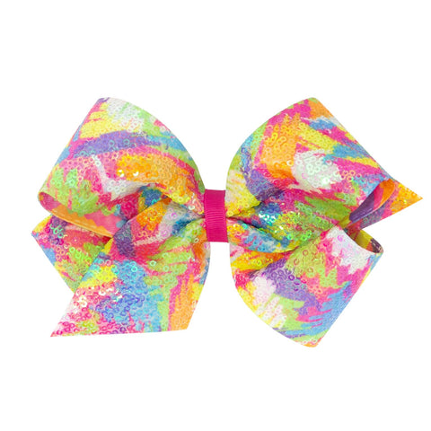 Wee Ones King Size Bright Sequins Bows