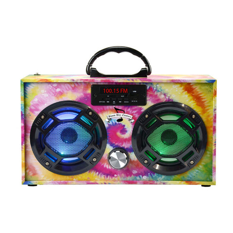 Wireless  Express  Mini Tye Dye Boom Box