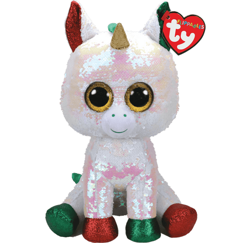 Ty Stardust Christmas Unicorn Flippables Large