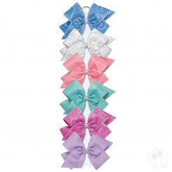 Wee Ones Large Swirl Organza Bows