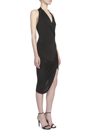 HELDER DIEGO,TWISTED SKIRT WRAP DRESS,Dress/Jumpsuit - HELDER DIEGO