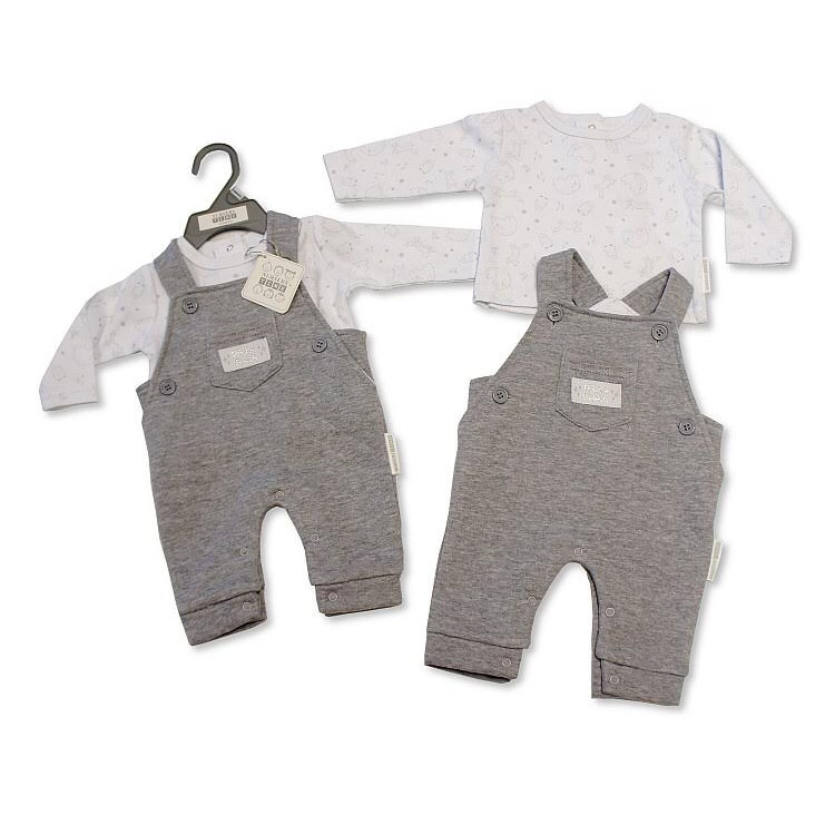 Winter Friends Dungaree Set