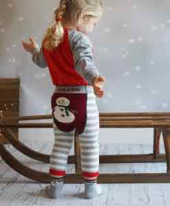 Blade & Rose Snowman Leggings