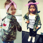 Camo print jacket ( 18 months -7 years)