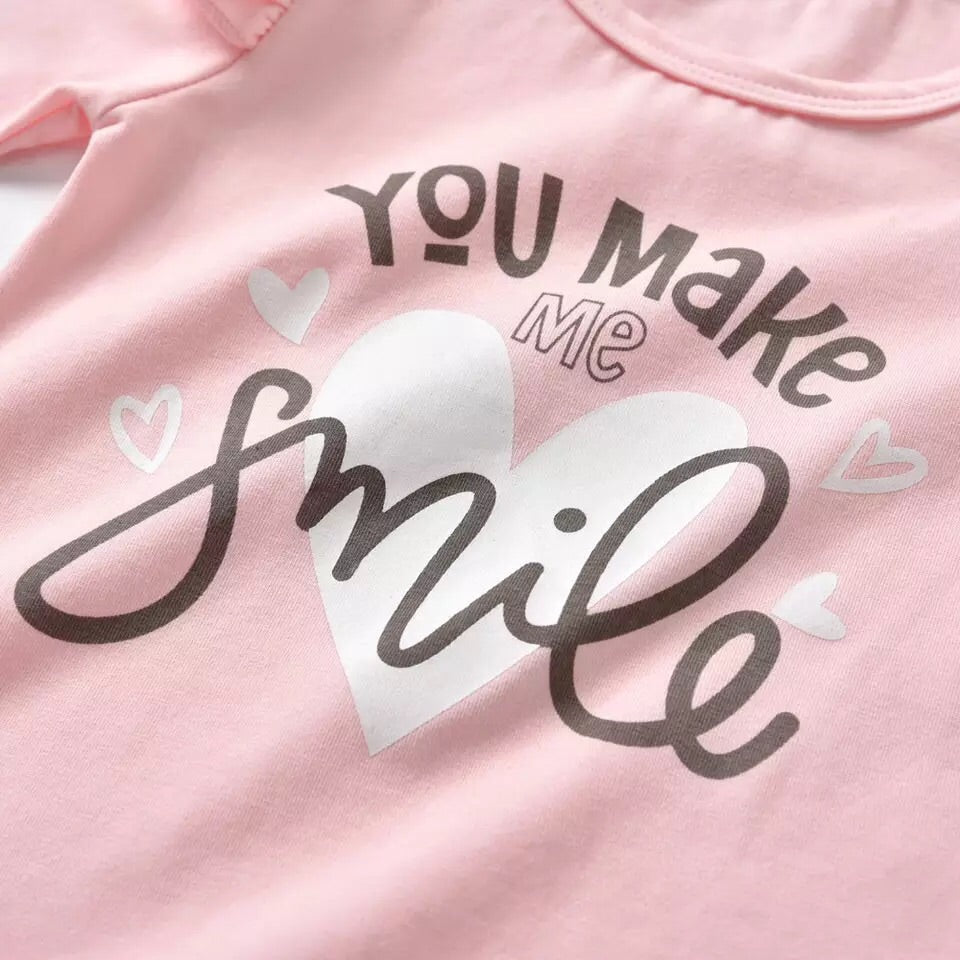 You make me smile 3 piece set ( 3-24 months)