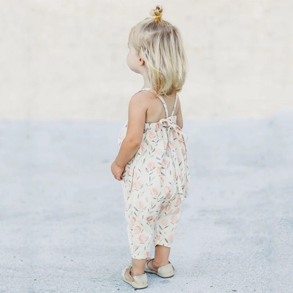 Tulip print jumpsuit (4-7 years)