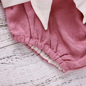 Cotton bow knot bloomers (6-24 months)
