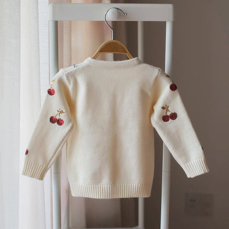 Cherry sequin cardigan (18 months - 4 years)