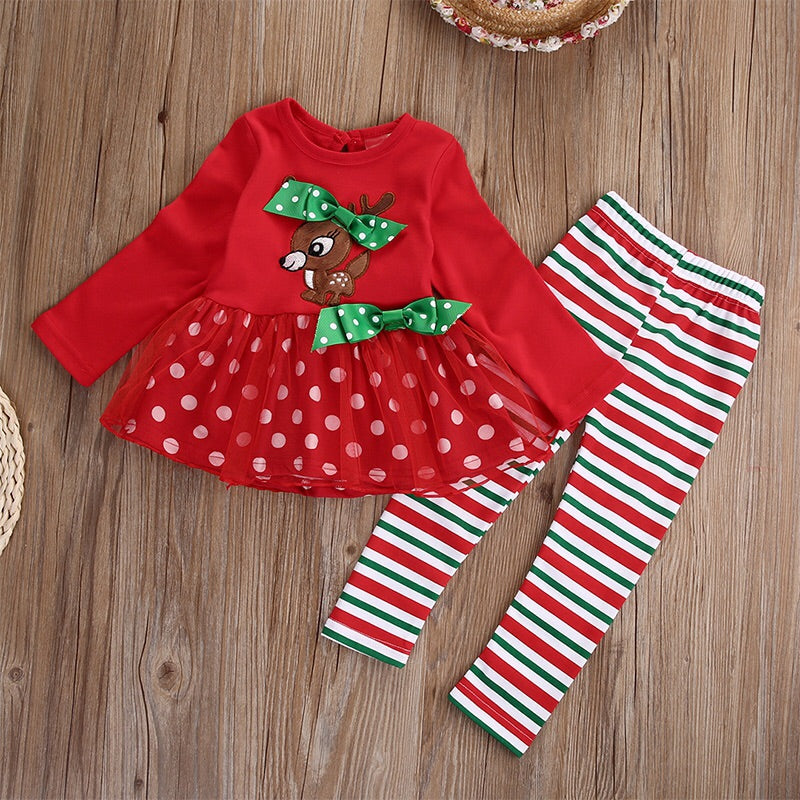 Reindeer tutu Dress set (2-6 years)