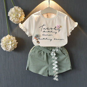 2 pc Short Set