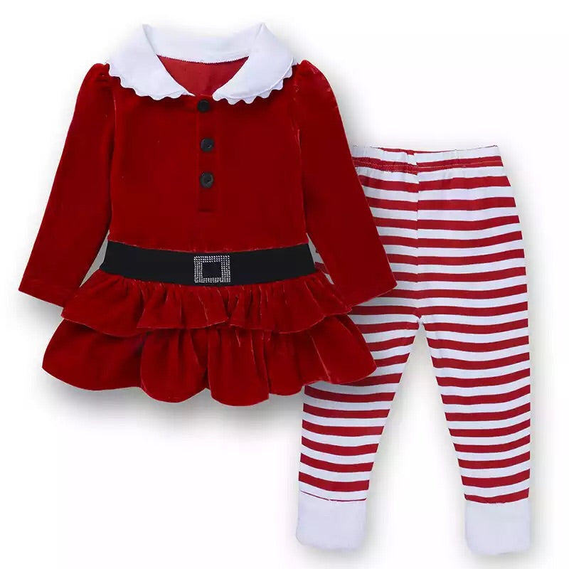 Christmas 2 piece Santa set (12 months - 6 years)