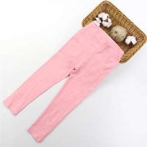 Coloured skinny trousers (3-7 years)