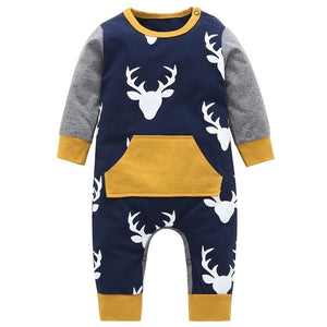 Autumn Deer Romper