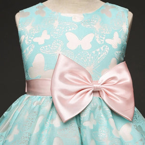 Girls Butterfly Detail Dress