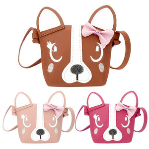 Dog cross body bag in 3 colours