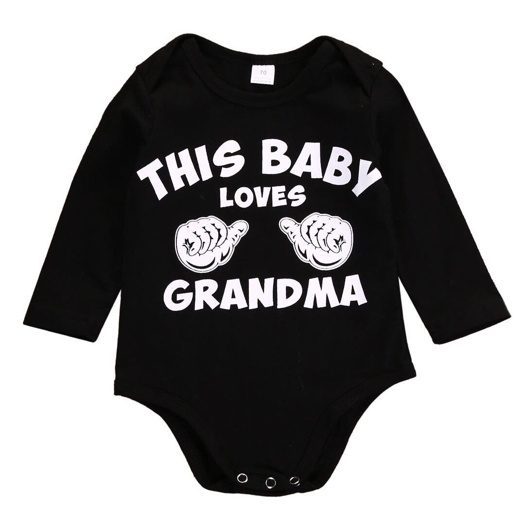 This Baby Loves Grandma Body