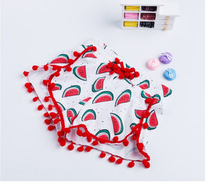 Watermelon print set (12 months- 4 years)