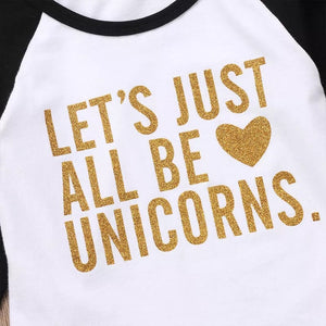 Let's just all be unicorns jumper