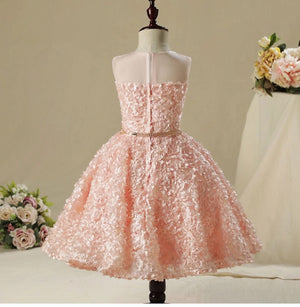 Pink Ella floral dress (12 months- 6 years)