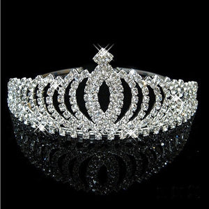Diamanté princess tiara