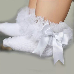 Girls ruffle socks