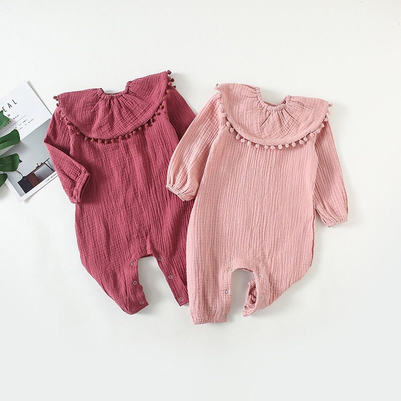 Cotton jumpsuit (6-24 months )