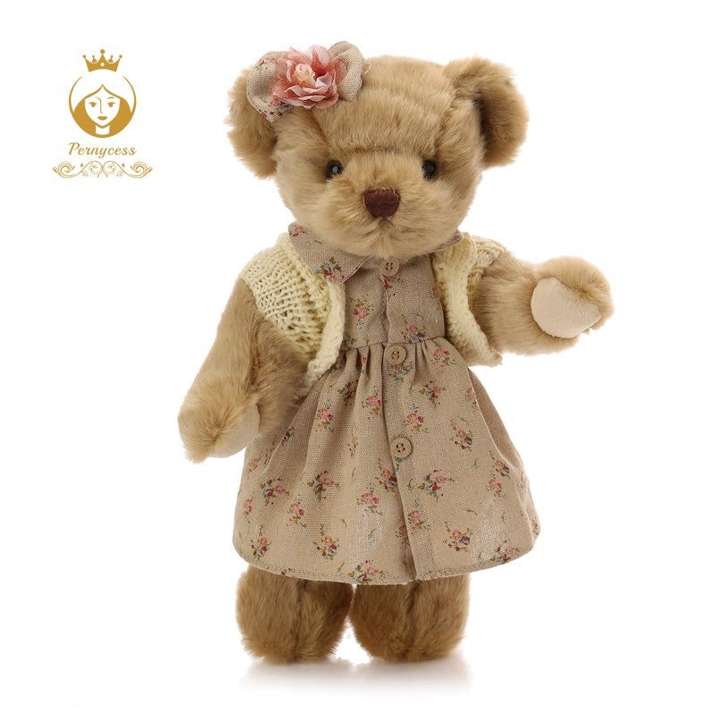Vintage blush teddy