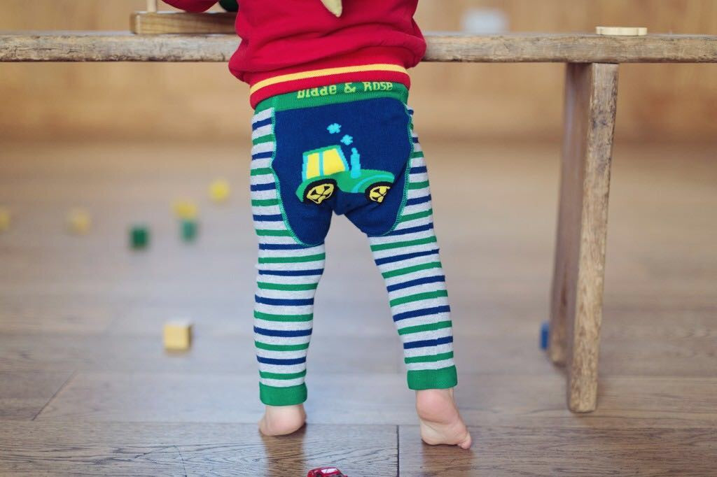 Tractor Leggings 6-12 mths