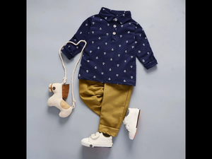 Boys Chino Set 12-18 mths