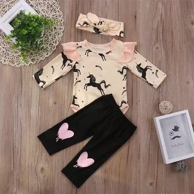 Unicorn 3 piece set