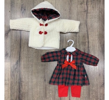 Three Piece Spanish Style Tartan Outfit
