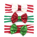 Candy cane sequin headband 1 only