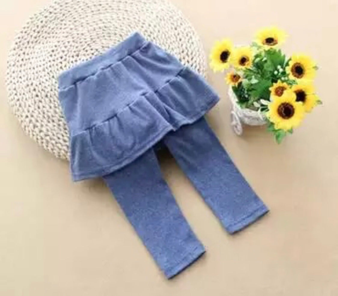 Blue skirt trousers ( 18 months - 5 years)