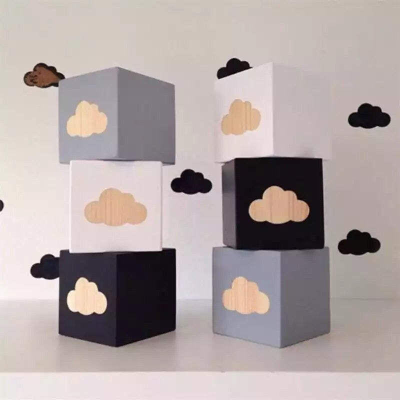 Cloud set of of cubes