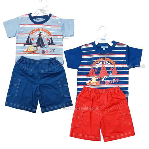 Ocean Bound Shorts Set 6-12