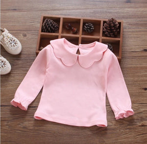 Scallop collar jumper (3-24 months)