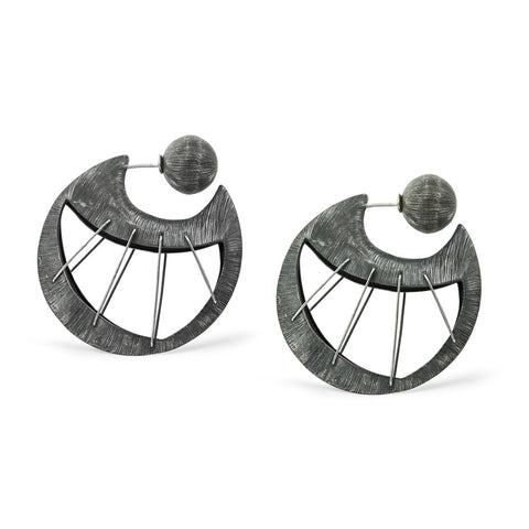 Weaving The Moon Earrings