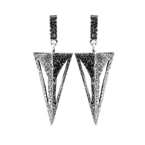 Vaulted Turret Earrings