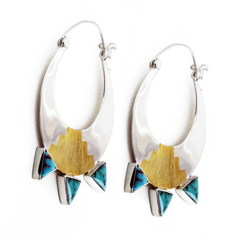 Egyptian Moonrise Earrings