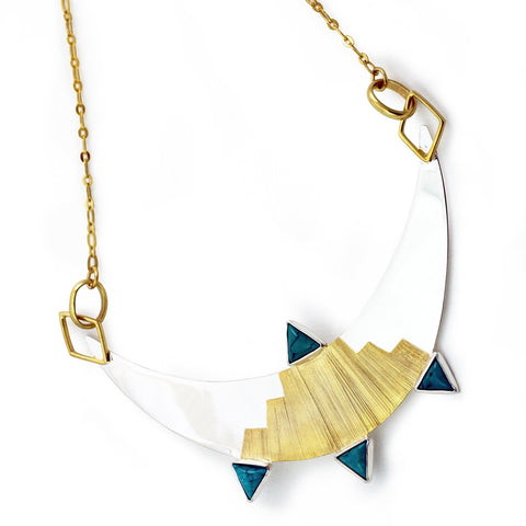 Egyptian Moon Necklace