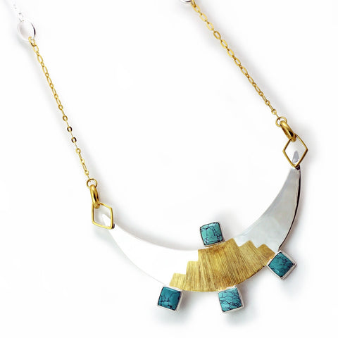Inca's Moon Necklace