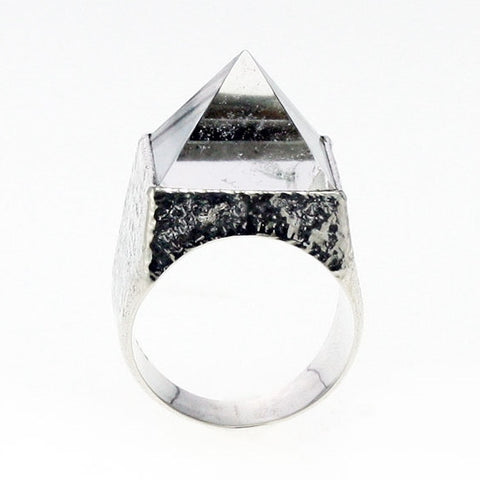 Pyramid of Love Ring